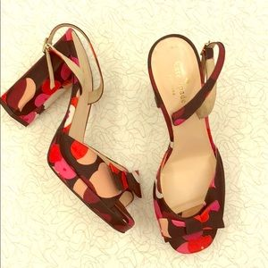 Totally Gorgeous ❤️Kate Spade Floral Heels